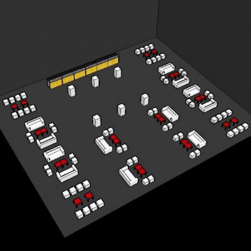 Lounge Area & Bar Area 100 - 200 personen