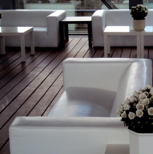 White Leather - Lounge Zetel