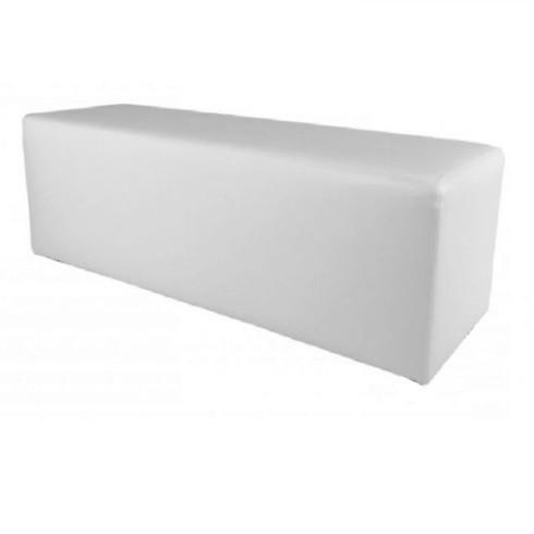 Witte zitbalk 160cm