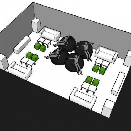 Lounge-Set 28 personen LUX