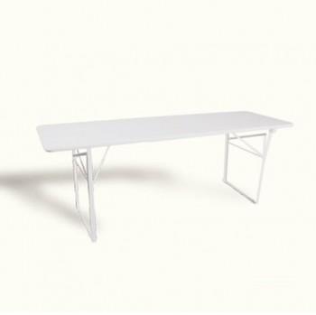 Witte klaptafel