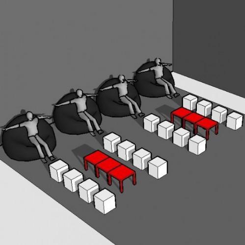 Lounge-set 20 personen